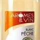 blanc peche arômes et vin